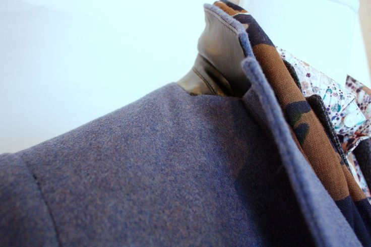 Sand Cobalt wool cashmere. #theodore1922 #fallfashion