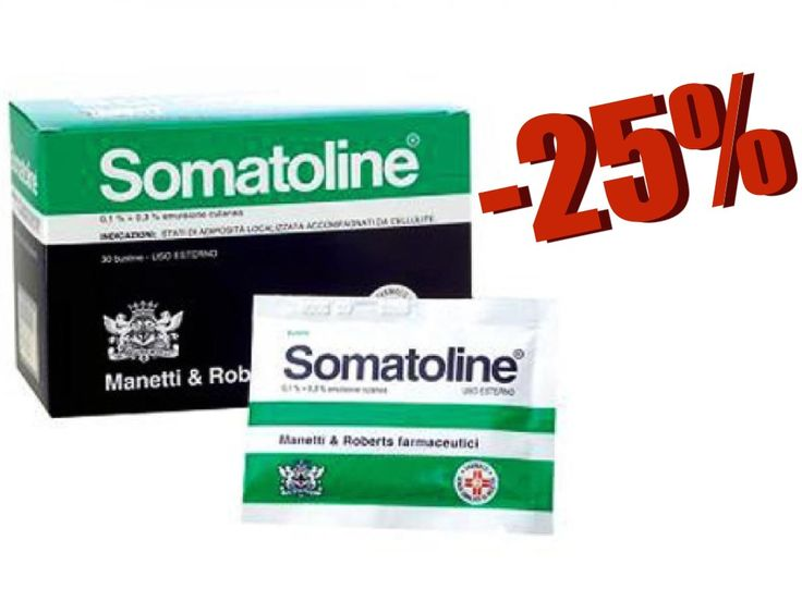 Contro la Cellulite anche la più ostinata. Promozione Somatolie: clicca qui! https://www.bravafarmacia.it/novita/5765-somatoline-emulsione-cutanea-30-buste.html