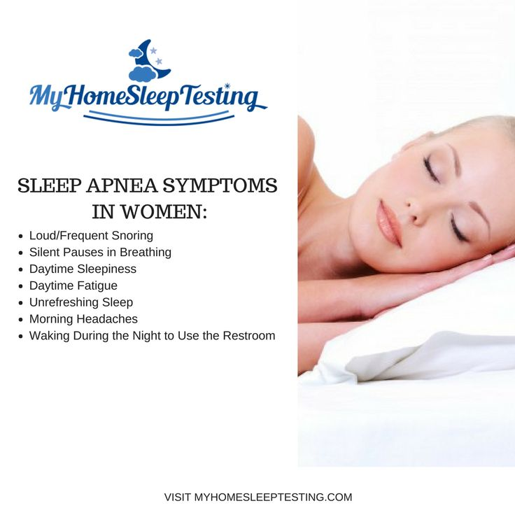Sleep apnea isn't just for men! If you suffer from any of these symptoms, make sure to contact My Home Sleep Testing to start the process in healing your sleep apnea.   #health #sleep #nosleep #osa #snoring #healthcare #cpap  #sleepy #sleeping  #sleepapnea #risk #sleepdisorders #sleepdeprivation #insomnia