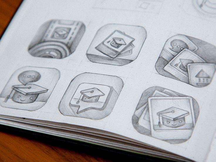 Peekd > app icon by Maria Shanina for Plainwhite