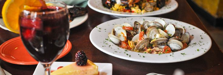 Tapas Teatro is just blocks away from St. Mark's Lutheran Church