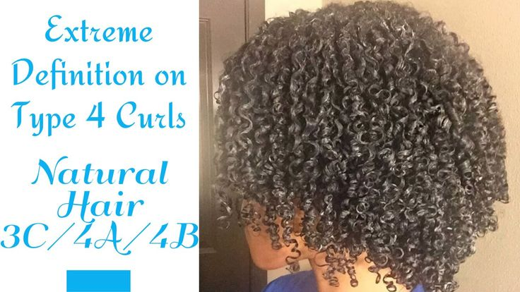 Extreme Definition for Type 4 Curls + Denman Brush Review