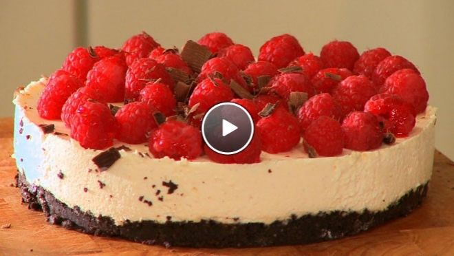 Cheesecake - Recept | 24KitchenPies And, Cheesecake, Receptions, 24 Kitchen, 24Kitchen, Recipes