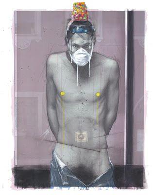 claus soraperra de la zoch: painting