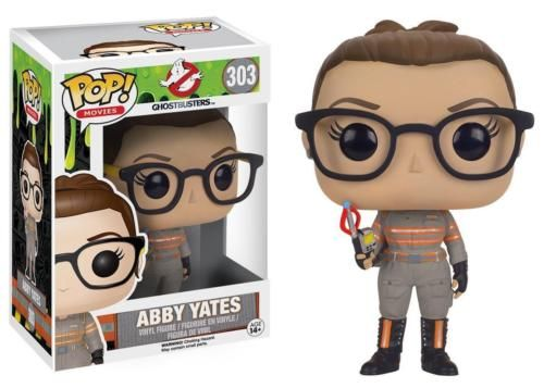 A paranormal researcher, a physicist, a nuclear engineer, and a subway worker band together to fight against the ghosts taking over New York City. Abby Yates, a paranormal researcher, becomes a part of the ghost busting team and a part of the Pop! Vinyl family! This Ghostbusters Pop! Vinyl Figure features Melissa McCarthy as Abby Yates from the rebooted 2016 film Ghostbusters. #funko #popvinyl #actionfigure #collectible #AbbyYates #Ghostbusters2016