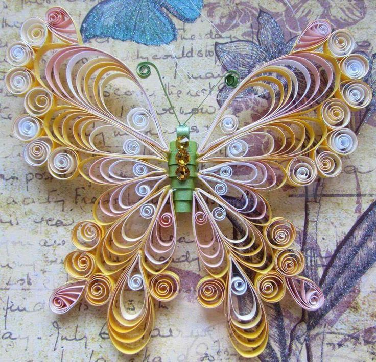 152 best quilling butterflies and other