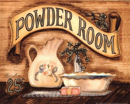 Powder Room by Becca Barton