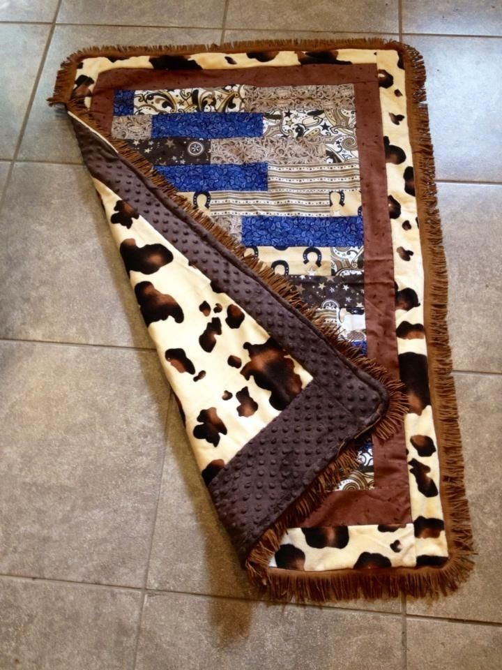 Cowboy Baby Quilt Things I Ve Made Pinterest I