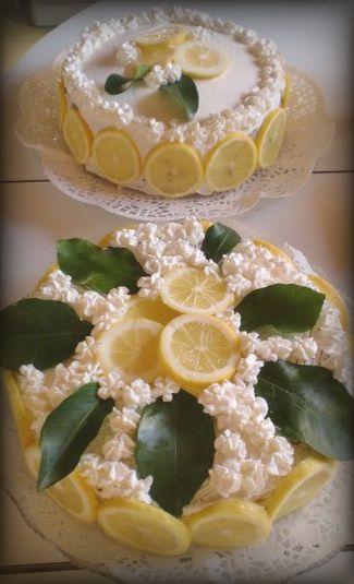 5 fette ( me ne mangio! ) Torta mascarpone e limoncello!!