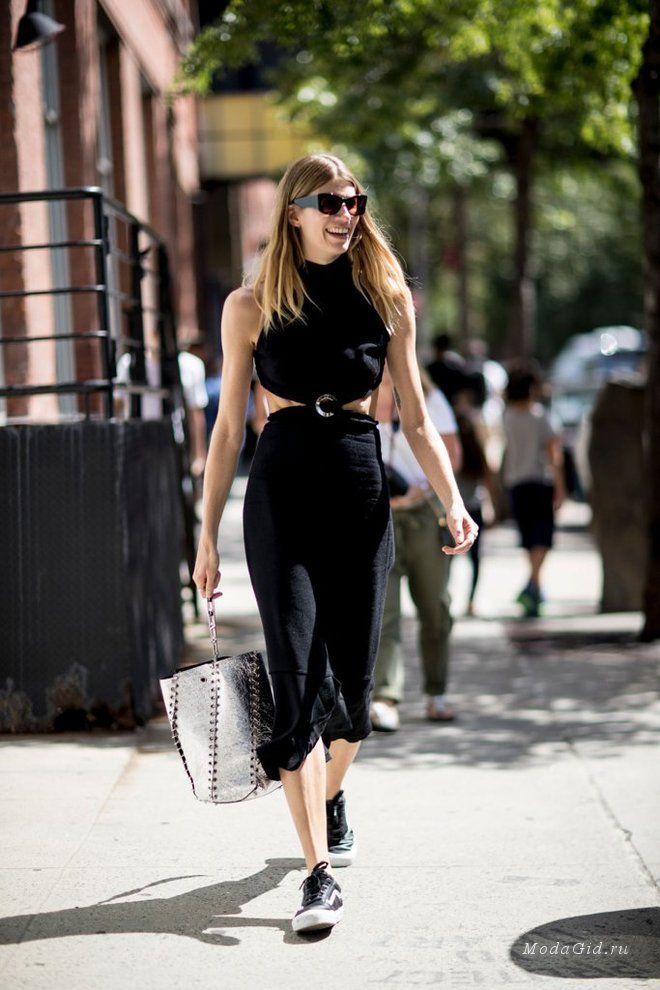 Уличная мода: Неделя моды в Нью-Йорке сезона весна-лето 2017: уличная мода