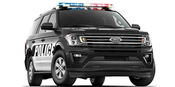 New Ford F-150 And Expedition Put On Police Uniforms #Ford #F150 #Policecar #Uniforms #turcks