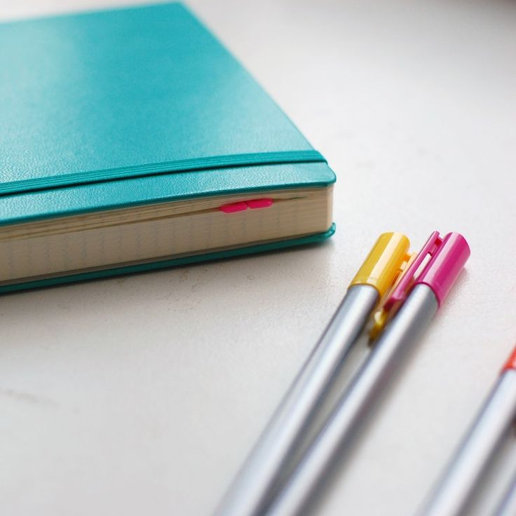 A beautiful post about how she uses her bullet journal (: And she speaks both German and English!