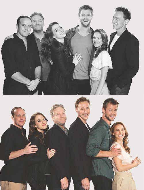 Cast of Thor - Natalie Portman is so short!!!
