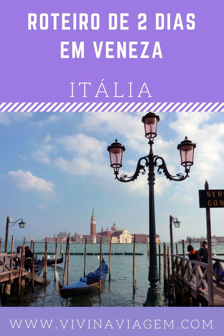 Ah… Itália! O quarto destino da nossa primeira viagem à Europa. A expectativa era grande, estávamos ansiosos para conhecer a cultura, a história e a gastronomia italiana. Começamos pela cidade mais romântica e diferente da Itália: Veneza. Nossa passagem pela cidade foi rápida e maravilhosa!!! Com base em nossa experiência montamos um roteiro de 2 dias em Veneza para compartilhar com vocês e ajudá-los a montar o seu próprio roteiro.