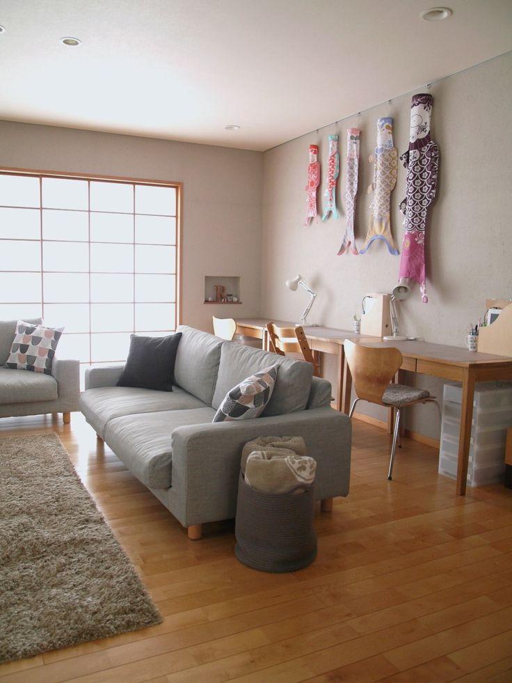 新しいソファカバーで、リビングに大きな変化! : usagi works