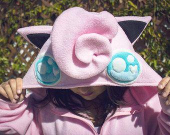 Jigglypuff Kigurumi (Onesie Pajama) Costume