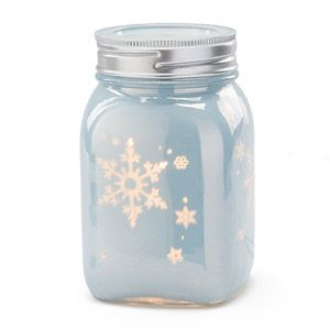 Scentsy Winter Frost Mason Jar Warmer - Cozy up to a charming winter wonderland! Modeled after an old-fashioned Mason jar, Winter Frost captures picture-perfect snowflakes and casts them out in a dazzling display. $40.00 $36.00 on sale the Month of November 2016 Available November 1, 2016 Contact me to place a pre-order  …