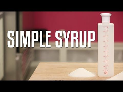 How To Make and Use SIMPLE SYRUP for your CAKES! AND Where To Find My BOTTLE! - YouTube for keeping cakes moist and yummy