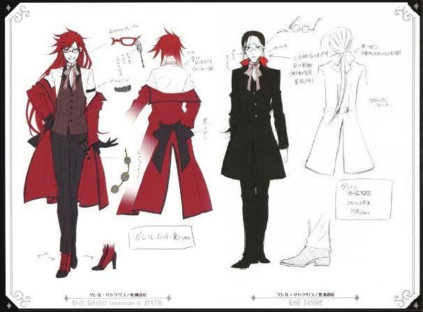 Grell – Black Butler Wiki – Manga, Anime, Sebastian, Ciel, Alois