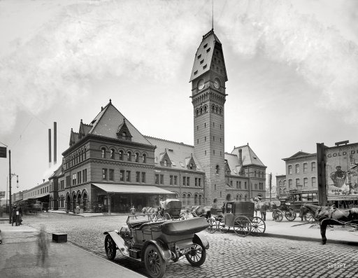 Dearborn Street Station: 1910