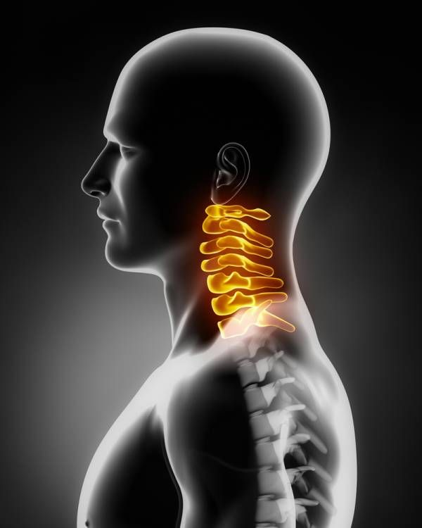 cervical spine, cervical injury, neck injury: Rolling your head in circles, gently pulling your head side-to-side, front-to-back, and back-to-front for five minutes anytime before you get on a mat or lace up your Inov-8s will do wonders to prevent the adhesions and spasms