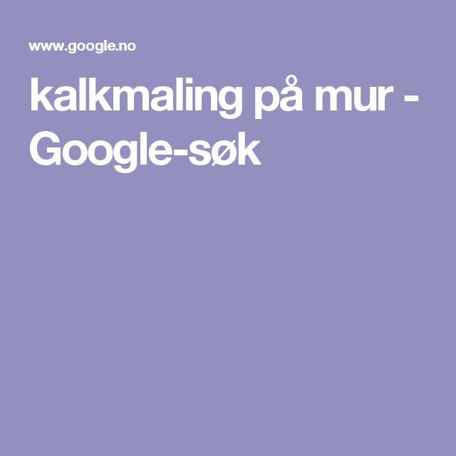 kalkmaling på mur - Google-søk
