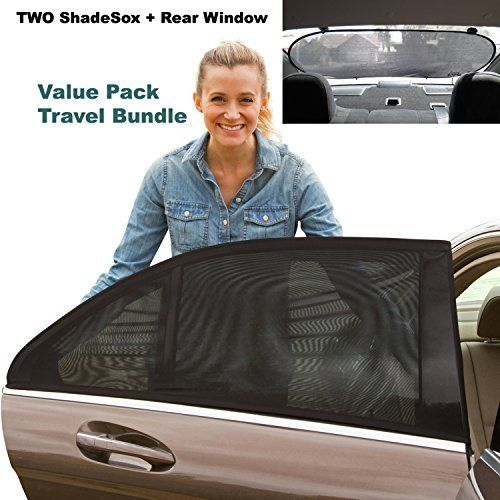 Premium Rear Window Sun Shade PLUS Two (2) ShadeSox Universal Fit Car Window Baby Sun Shades! | Universal Baby Sun Shade Travel Kit Bundle (3 Piece) For Cars and SUV's | Travel eBook Included! We Love 2 Promote http://welove2promote.com/product/premium-rear-window-sun-shade-plus-two-2-shadesox-universal-fit-car-window-baby-sun-shades-universal-baby-sun-shade-travel-kit-bundle-3-piece-for-cars-and-suv-s-travel-ebook-included/    #onlinebusiness