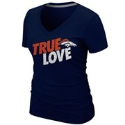 @Fanatics ® Nike Denver Broncos Ladies True Love Premium T-Shirt - Navy Blue.  #fanaticswishlist