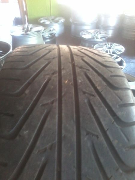 At magntyre warehouse we sell very good second hand tyres, 265/70/17 all terrain or mud terrain tyres from Run Flats to Bakkie tyres to smaller cars. Any Sizes, Any Brands, Tyres65-70% tread. If we don't have what you need, we will get it for you!!! 255 55 19 MAGS AND TYRES IN VERY GOOD CONDITION FOR BOTH CARS AND BAKKIES FROM RUNFLATS TO NORMAL. Call Lawrence at 0625547113
