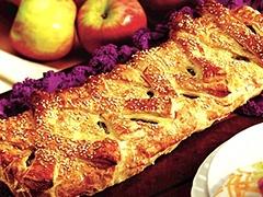 Maple Sausage and Apple Braid: Sausage Apple, Recipe, Maple Sausage