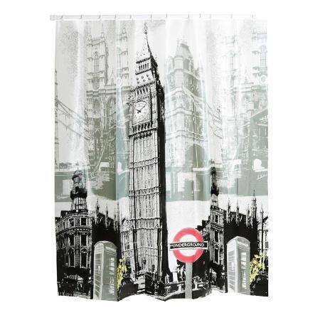Cortina Para Baño Londres