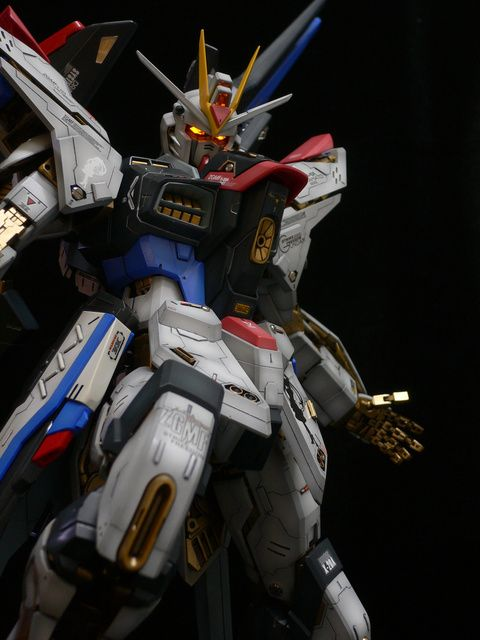 PG 1/60 Strike Freedom Gundam   Modeled by Terry Wong   *Love the paint job and the extra customizations*         CLICK HERE TO VIEW MORE I...