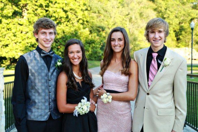 Senior Homecoming Dance Pictures- Hannah Arnzen Photography