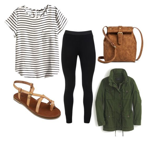 """airplane outfit."" by kathleen-motoa on Polyvore:"