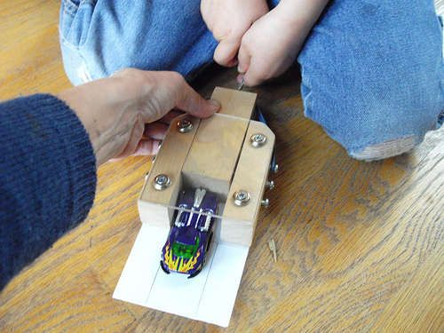 Rubber Band Powered Quot Hot Wheels Quot Type Car Launcher Cars