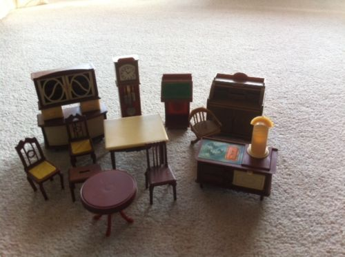 Jean W Germany Vintage Dolls House Furniture Jean Germany Plastic Dolls House Furniture