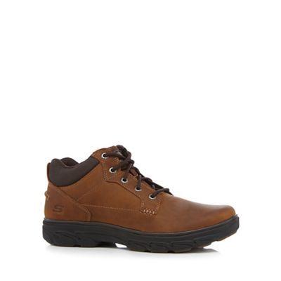 Skechers Brown 'Resment' boots | Debenhams