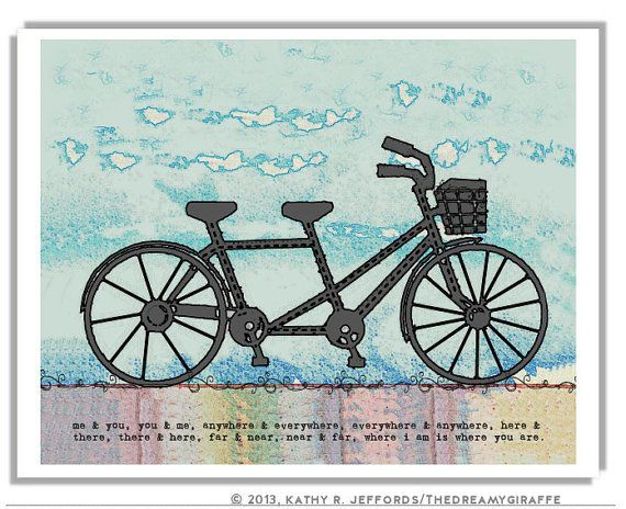 Gifts for tandem bike riders gift ftempo for 70 bike decoration