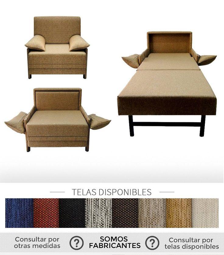 Las 25 mejores ideas sobre sillon cama 1 plaza en - Sillon para cama ...