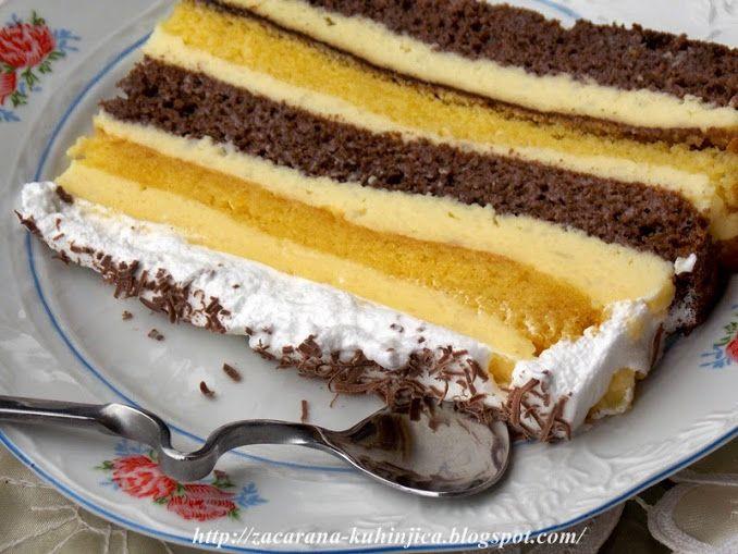 Začarana kuhinjica: Mornarska torta