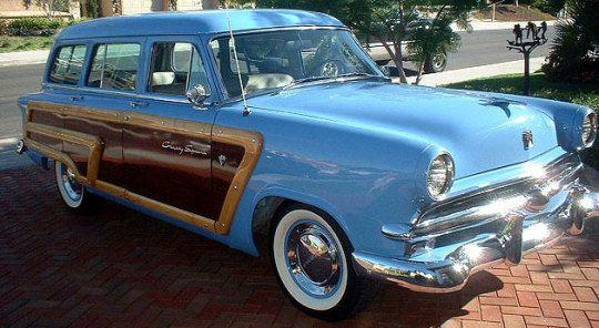 1953 Ford Crestline Country Squire Wagon