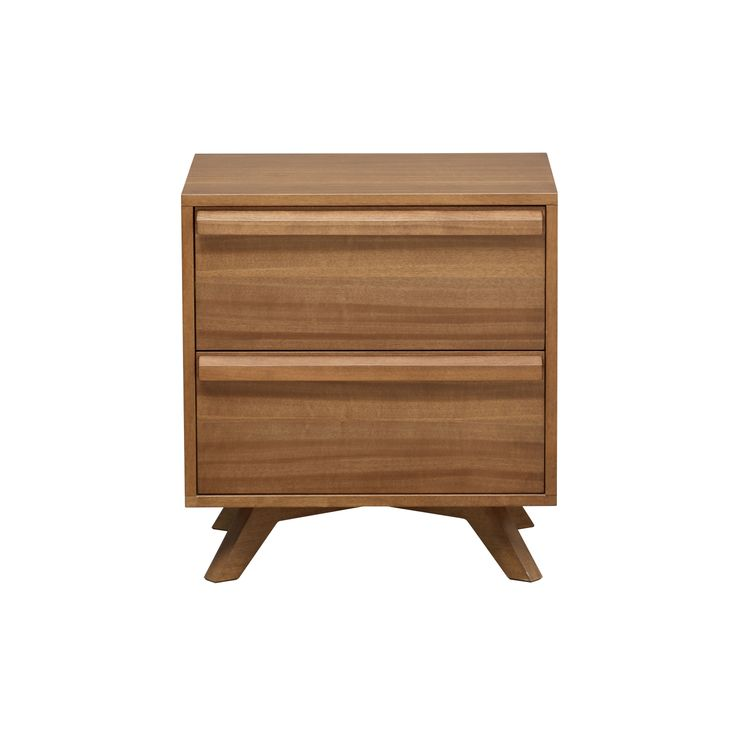 Calibra 2-Drawer Bedside Table from Domayne Online $799  Depth: 43.4cm Height…