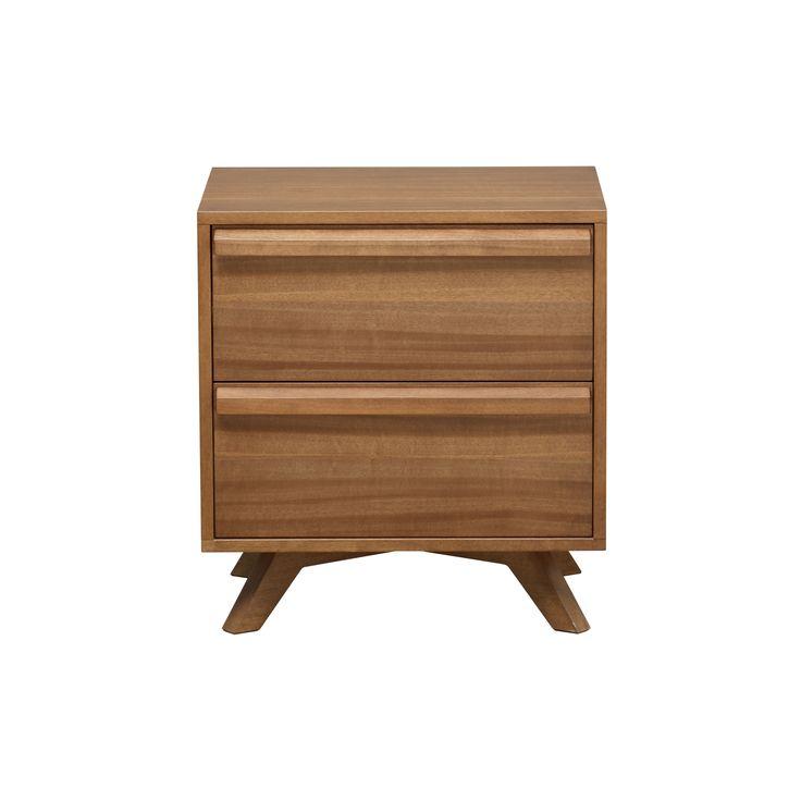 Calibra 2-Drawer Bedside Table from Domayne Online