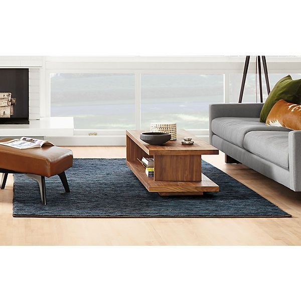 Mattea Rugs - Hess Sofa with Boden Leather Chair - Living - Room & Board