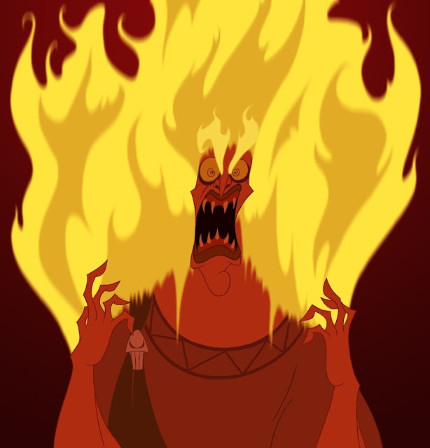 Lastly, We Have A Very Angry Hades, From The Hercules Disney Movie.