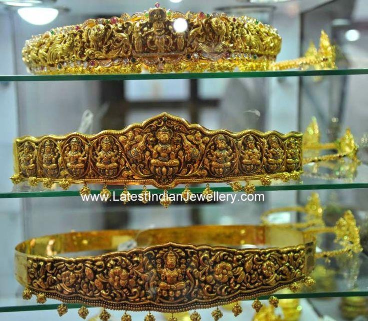 Nakshi Work Vaddanam Designs