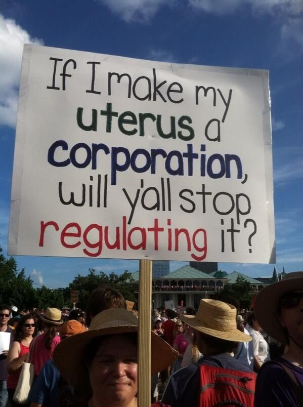 "So much uteri-magination. | Community Post: 18 Great Signs From North Carolina's ""Moral Monday"" Protests"
