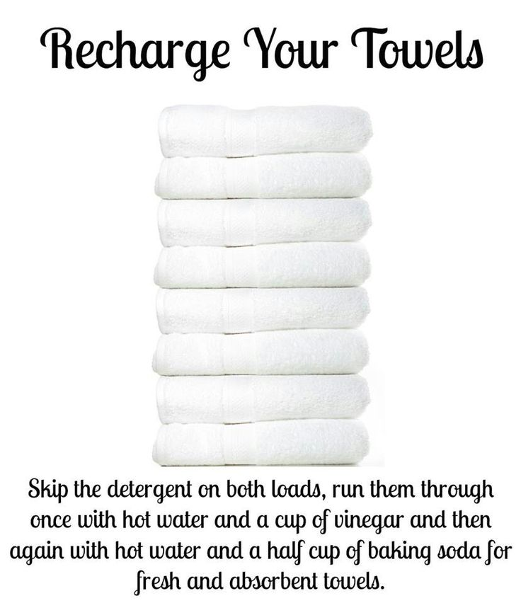 Recharge your towels