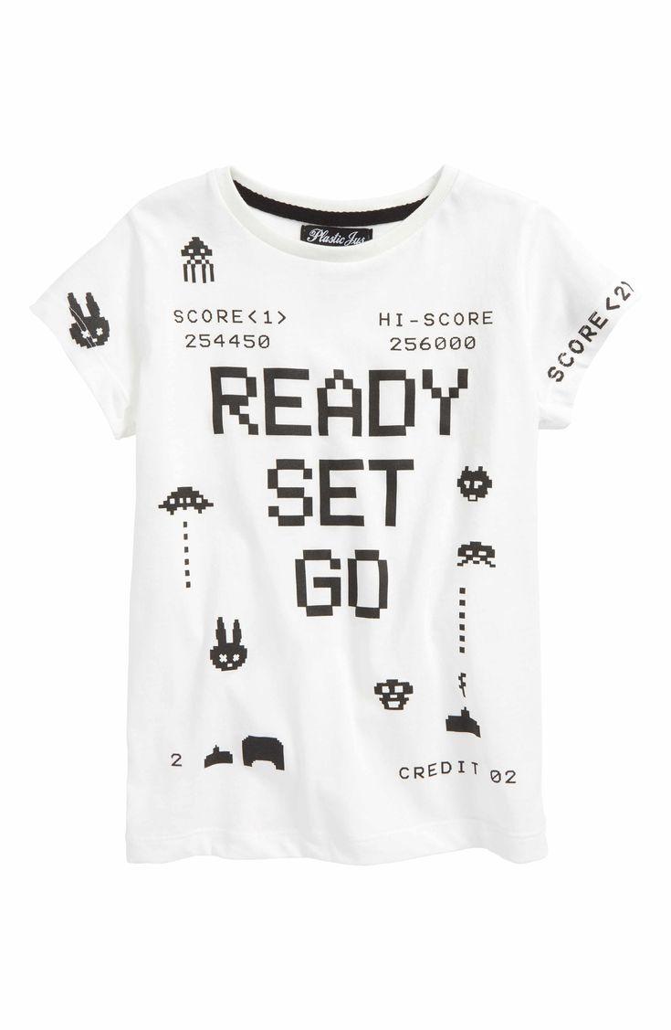 Main Image - Plastic Jus Ready Set Go Graphic T-Shirt (Baby Boys, Toddler Boys, Little Boys & Big Boys)