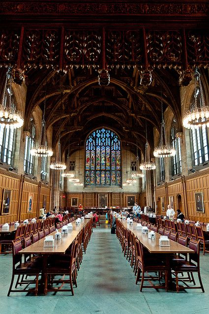 Proctor Hall, Graduate College @ Princeton University by Dean Shu / Chyi-Dean Shu, via Flickr